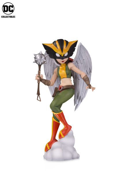 DC Comics Artists Alley Hawkgirl Zullo Statue